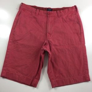J. Crew Rivington Cotton Flat Front Shorts FC37
